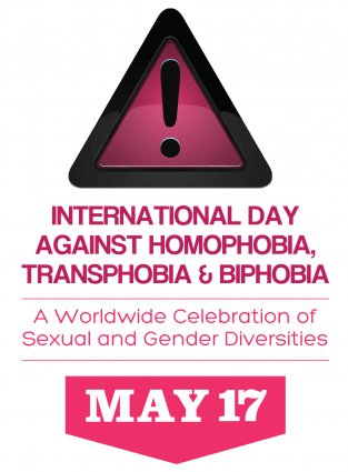 IDAHOT - International Day Against Homophobia Transphobia & Biphobia - May17 {JPEG}