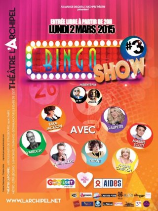 Grand Jeu BINGO SHOW #3 {JPEG}